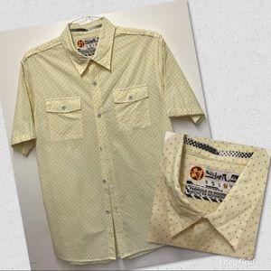 Quicksilver Men's Short Sleeve Button-Down Shirt